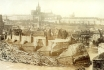 37 - The Charles Bridge  after the great flood of September 4th, 1890