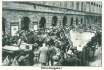 494 - The large crowd waiting for news in front of the offices of the Prager Tagblatt newspaper