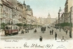 445 - A view of Wenceslas Square from the lower end, looking towards the Royal Bohemian Museum